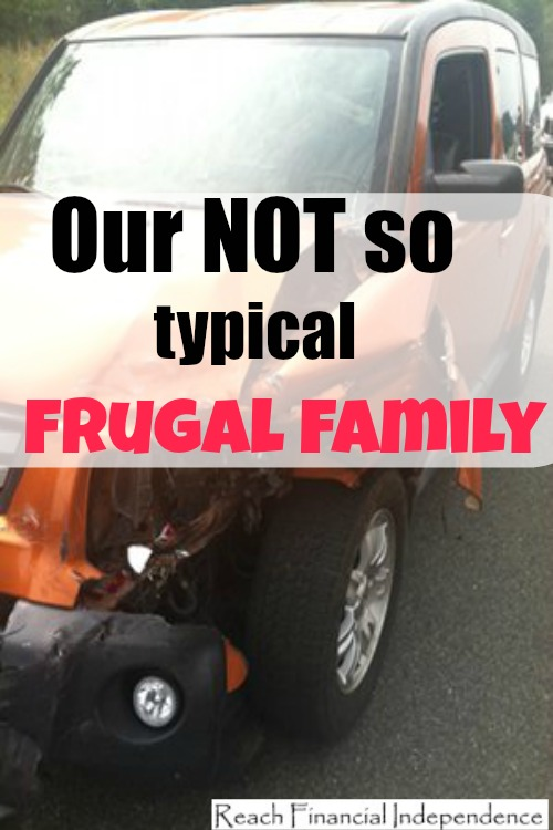 Our not so typical frugal family