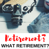 Retirement? What retirement? I don't want retirement! Having achieved financial health by paying off all our consumer debt I want financial independence that meets both conditions set out above. #retirement #financialindependence