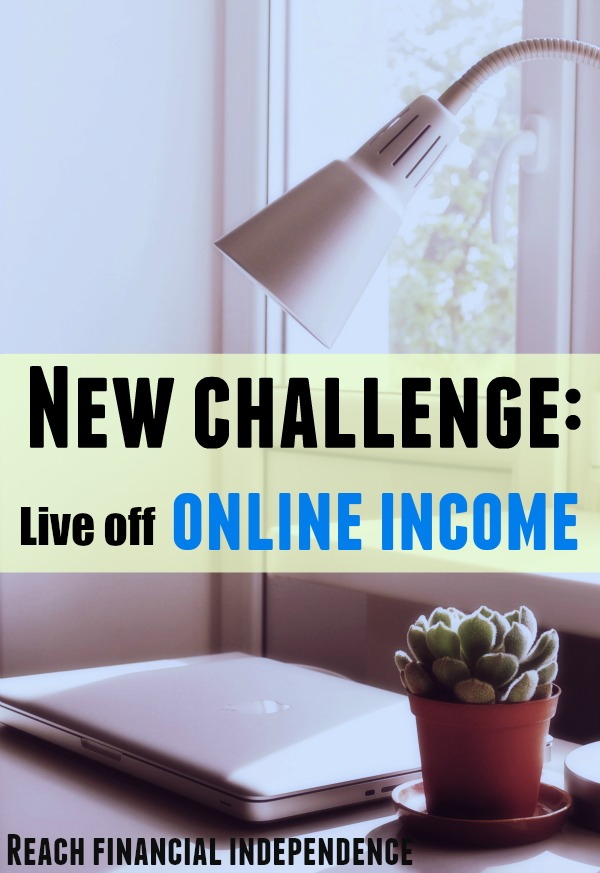Live off online income