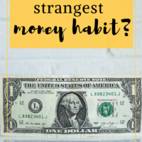 What is your strangest money habit? Have you tried to split tab? I will generally pick it up, independently of your sex, unless you beat me to it first. But I hate ruining a nice moment by figuring out who owes what. #frugaltips #moneyhabit