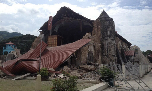 Church of San Pedro Apostol in Loboc, Bohol