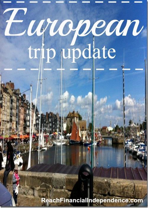 European trip update