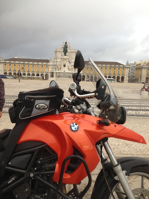 My bike in Lisbon, not yet a classic but really awesome!