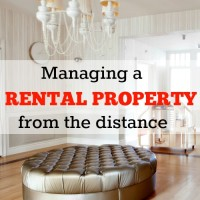 Managing a rental property from the distance