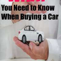 What You Need to Know When Buying a Car