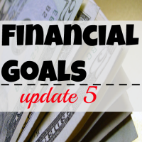 Financial goals update 5