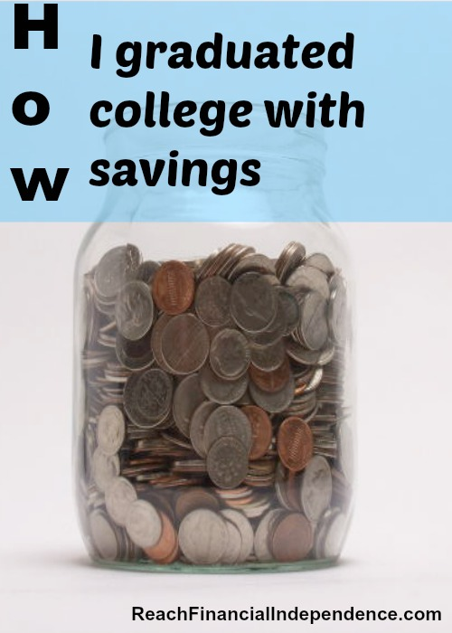 graduated college with savings