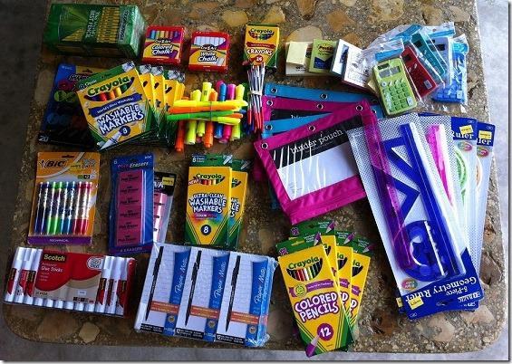 school supplies guatemala