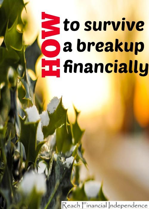 survive a breakup financially