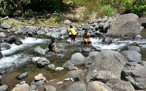 Lala's Eco Park river