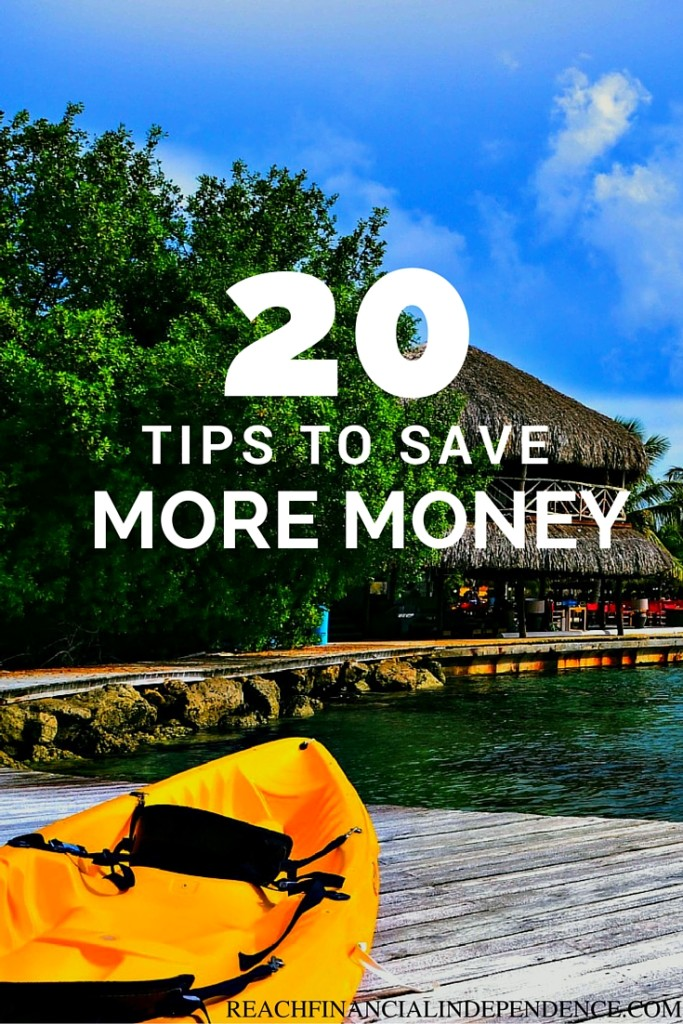 20 tips to Save More Money
