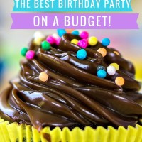 Best Birthday Party on a Budget