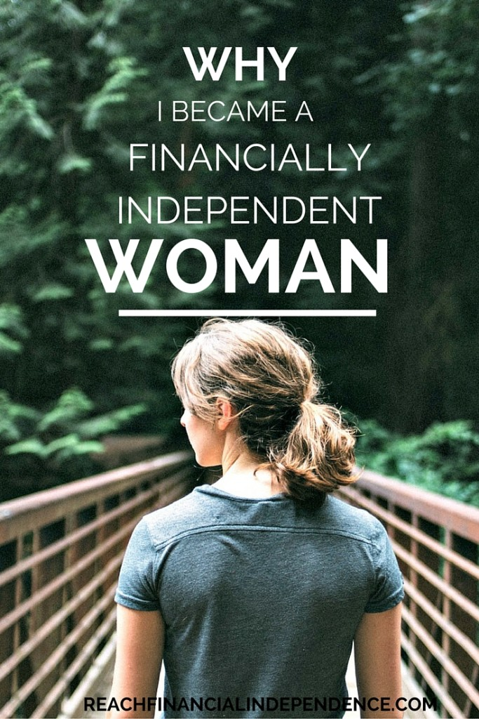 financially independent woman