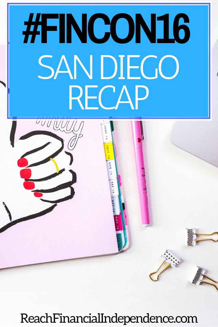 I went to San Diego for the Financial Blogger Conference (#FinCon16) last month. I had the BEST TIME at FinCon.