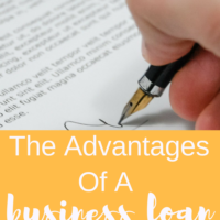 The Advantages Of A Business Loan