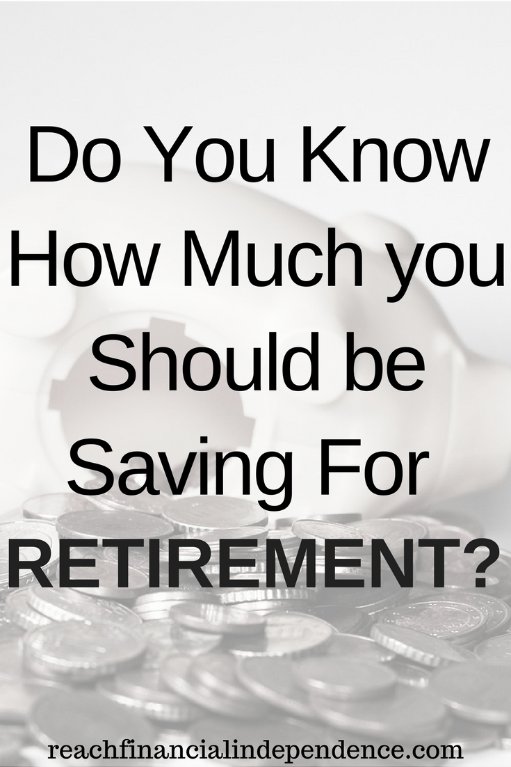 Do You Know How Much you Should be Saving For Retirement?