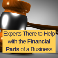 Experts There to Help with the Financial Parts of a Business