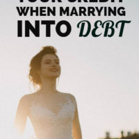 Protecting Your Credit When Marrying Into Debt