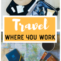 Travel Where You Work. There are many strategies to create opportunities for international travel. I would like to share with you a strategy that has worked well for me. A lot of my international travel has been through taking jobs in different countries. #travelwork #work