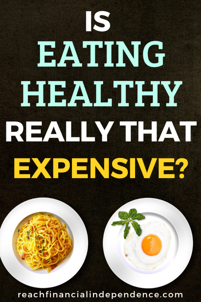 Is Eating Healthy Really That Expensive? Healthy eating should be a top priority as it'll save thousands of dollars in medical bills and save you plenty of physical and emotional pain down the road in life. Find out how to eat healthy without breaking a bank. #eatinghealthy #simpleliving